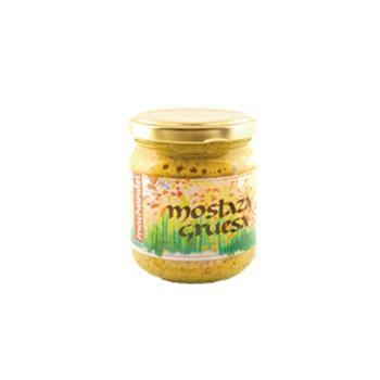 MOSTAZA GRUESA MACHANDEL 210 ml BIO